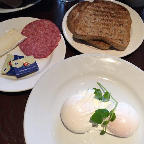 Essen im Hotel - Frühstück