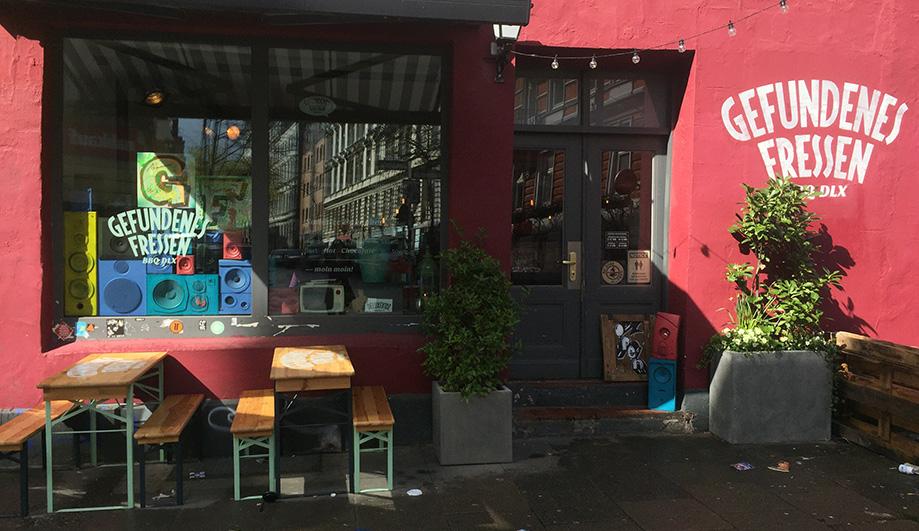 Rapper Restaurant im Karolinenviertel - Gefundenes Fressen