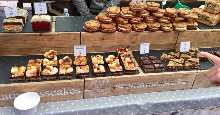 London – Day 4 'More gluten free food and/on Broadway Market'