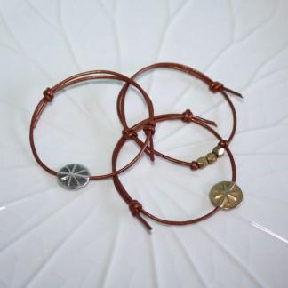 silver start leader bracelet