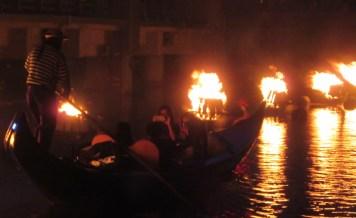 Waterfire gondola