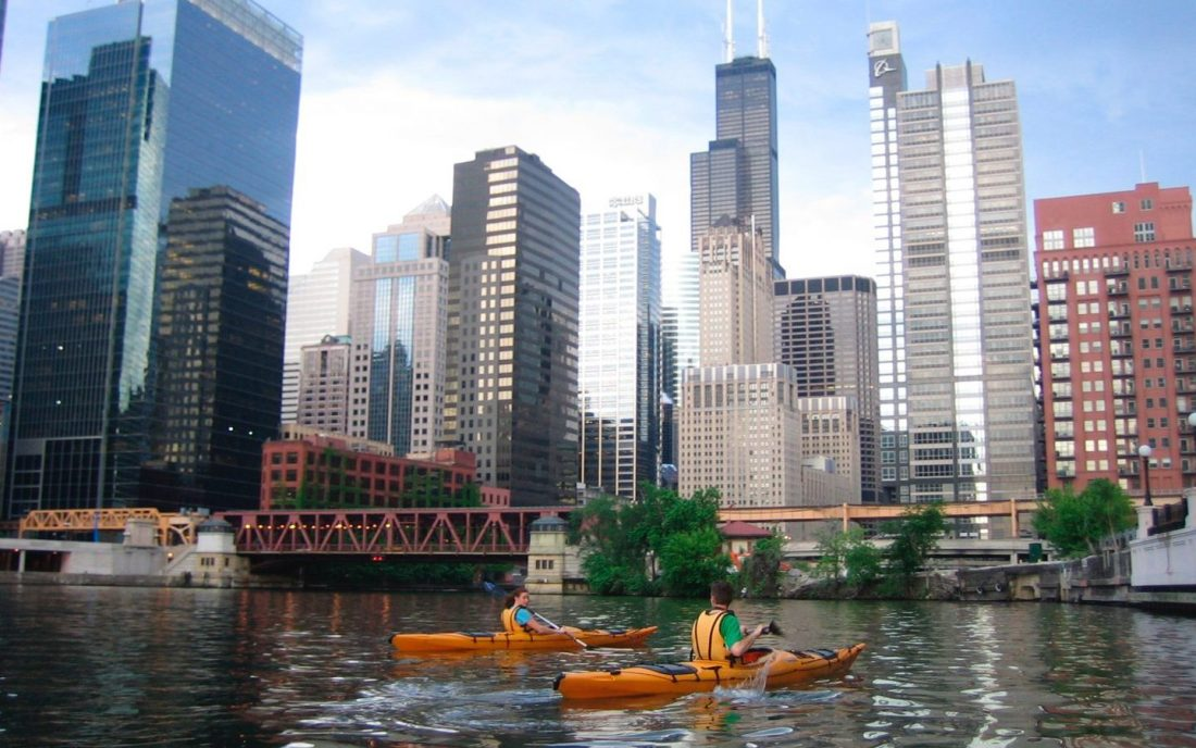 kayak rentals Chicago River