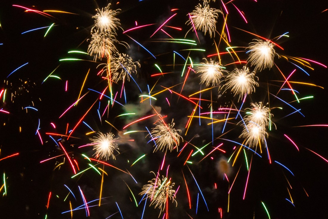 chicago fireworks kayak