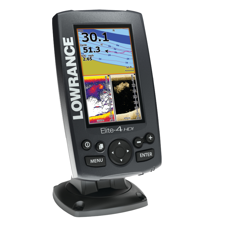 Lowrance Elite 4 HDI Sonar / GPS *Superceeded use Hook 4 Chirp *