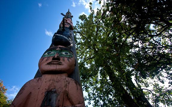 Totem in Petersburg