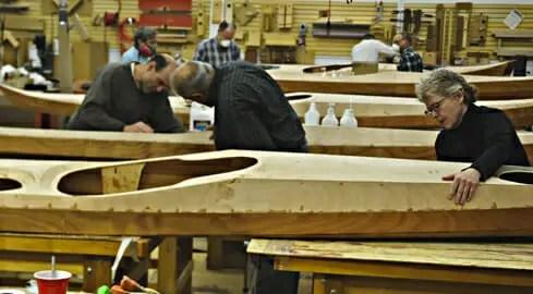 Building A Kayak