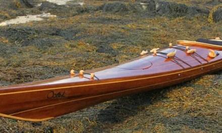 Sanding A Strip Built Sea Kayak