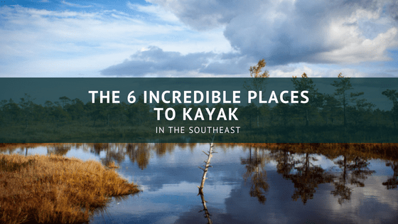 kayak places in SOUTHEAST