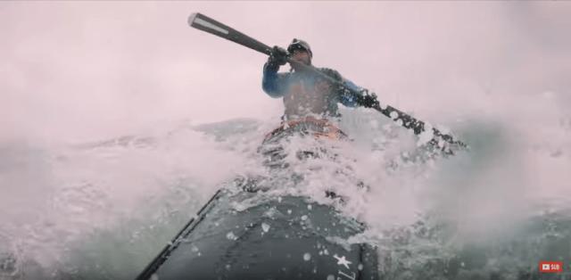kayak action camera slow motion