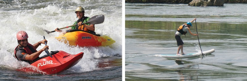 White Water Kayaking and Stand Up Paddleboard