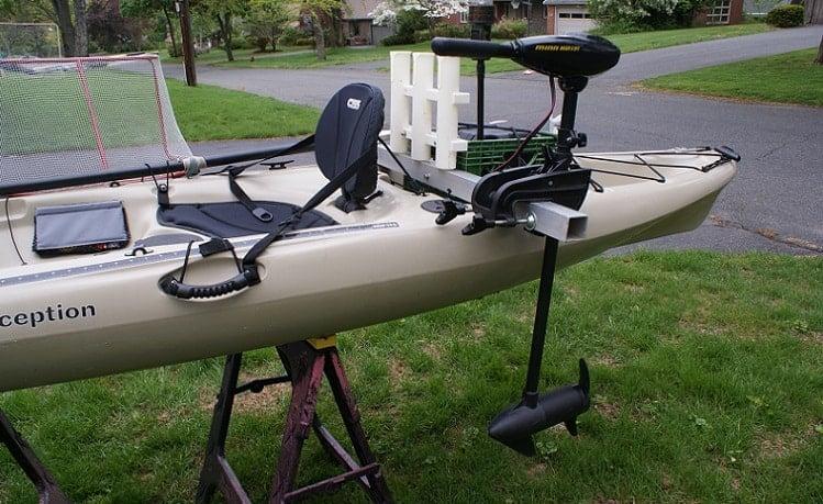 To Mount A Trolling Motor Kayak