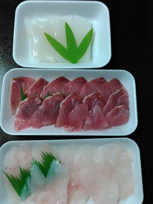 手巻き寿司の材料