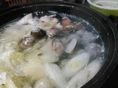 魚のミンチ鍋