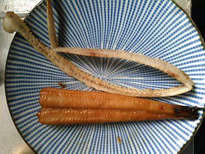 アナゴの味醂干し