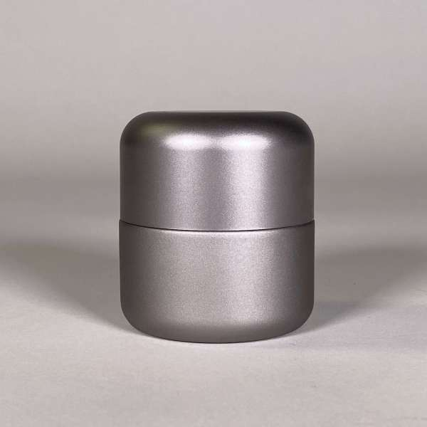 Silver Body Silver Top Cannabis Packaging