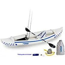 Sea Eagle SE370 Inflatable Sport Kayak Fishing