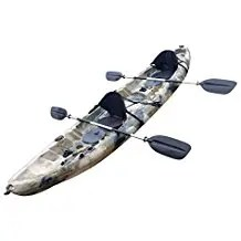 BKC UH-TK219 12 foot Tandem Sit On Top Kayak