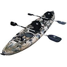 BKC UH-TK219 12 foot Tandem Sit On Top Kayak