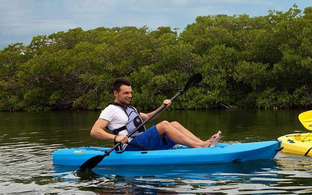 Lightweight sit on top kayak