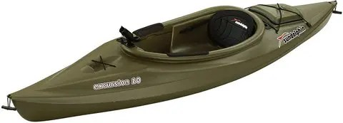 Sun Dolphin Excursion 10-Foot Sit-in Kayak