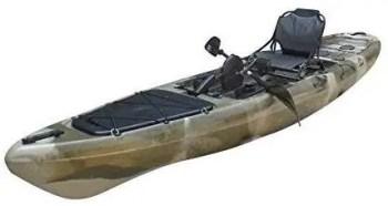 BKC PK13 13' Pedal Drive Fishing Kayak