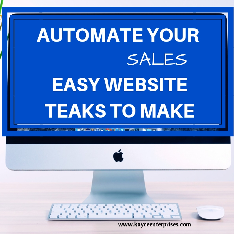 get more sales from your website