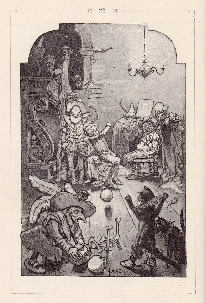 The Story of the Youth Who Went Forth toLearn What Fear Was (Grimms - illust. by H. Vogel)