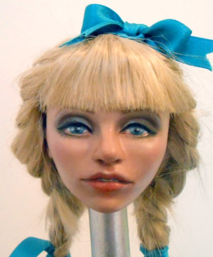 Doll head by Kay De Garay