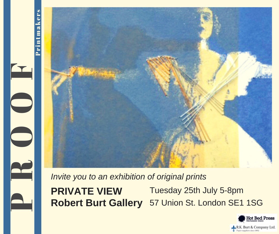 PROOF Printmakers London Exhibition