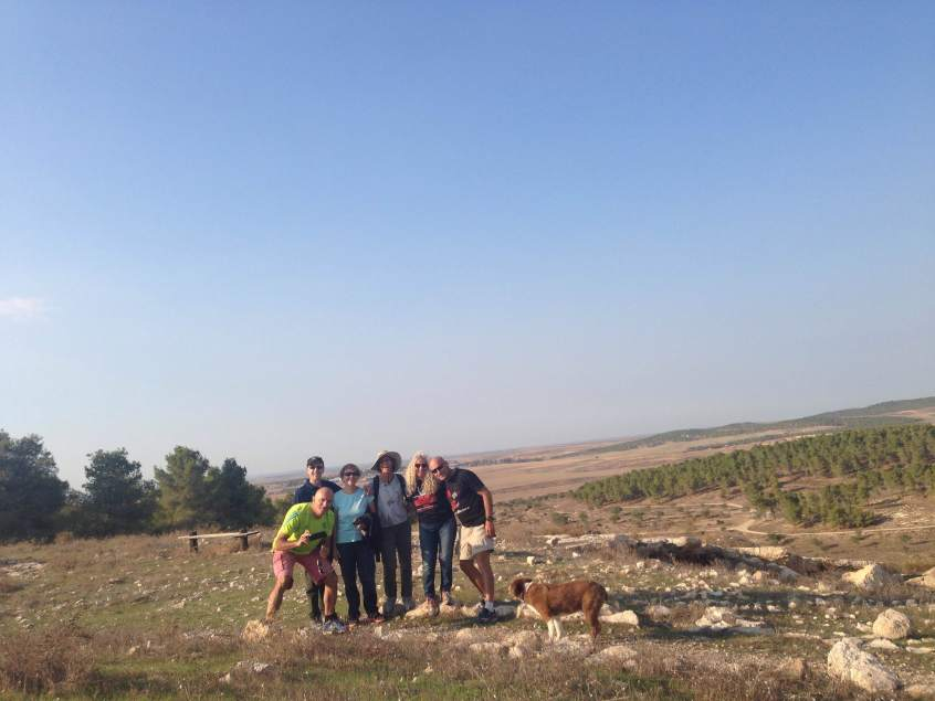 Israel hiking