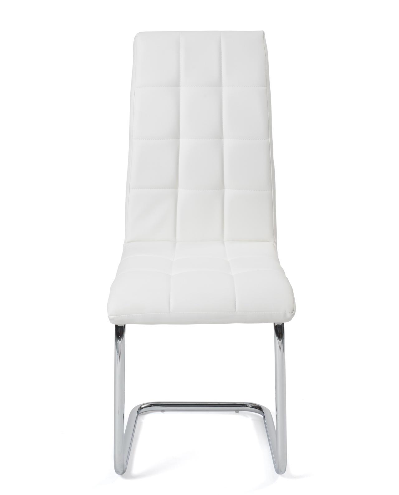 chaise salle a manger design simili cuir maxi lot de 4