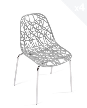 chaises de cuisine confortables et