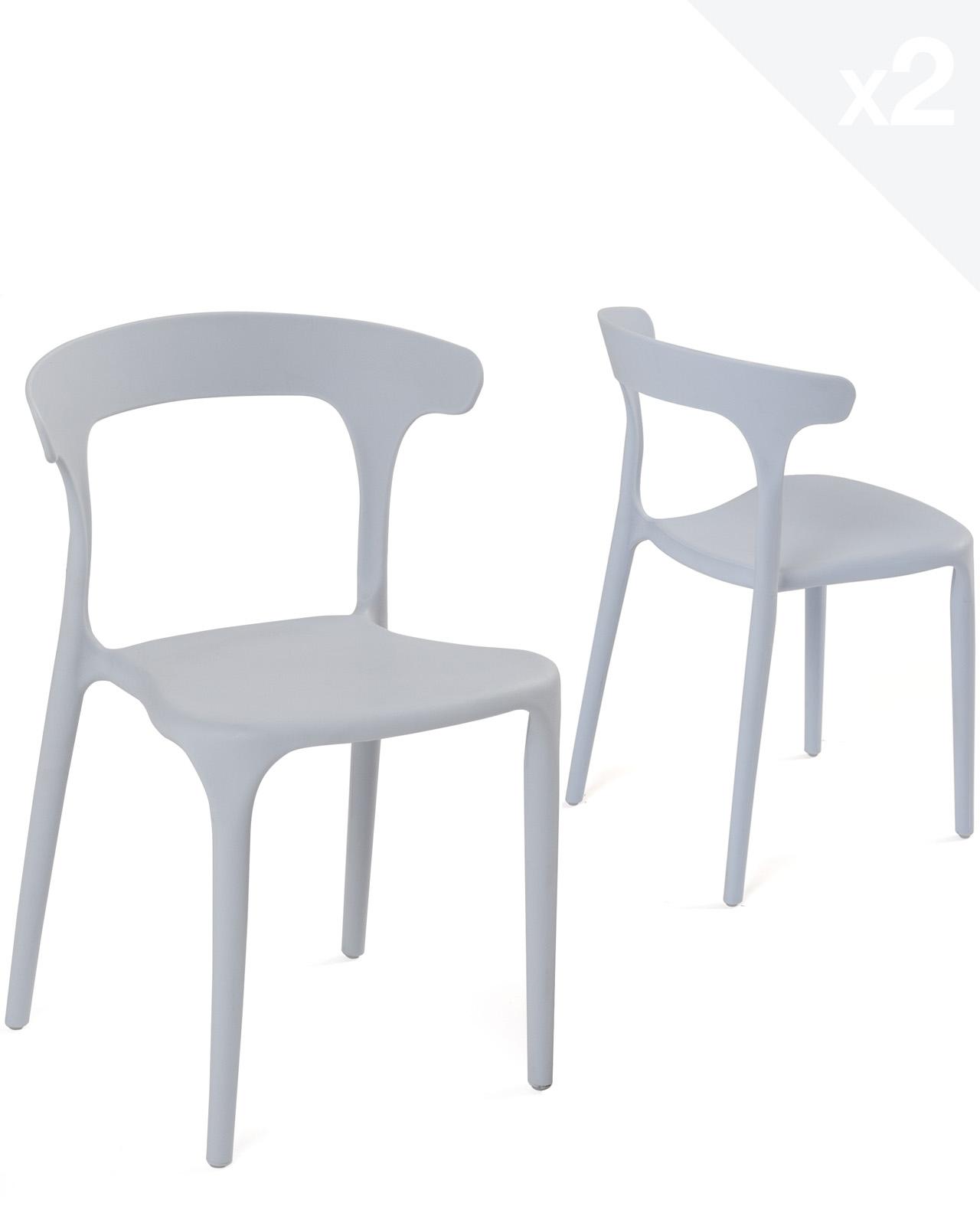 chaises design enfant beo lot de 2