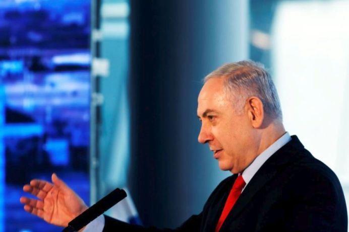 Israeli Prime Minister Benjamin Netanyahu February 15, 2018. REUTERS/Ronen Zvulun