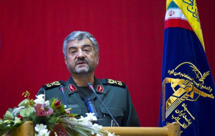 Iran's Revolutionary guards commander Mohammad Ali Jafari . REUTERS