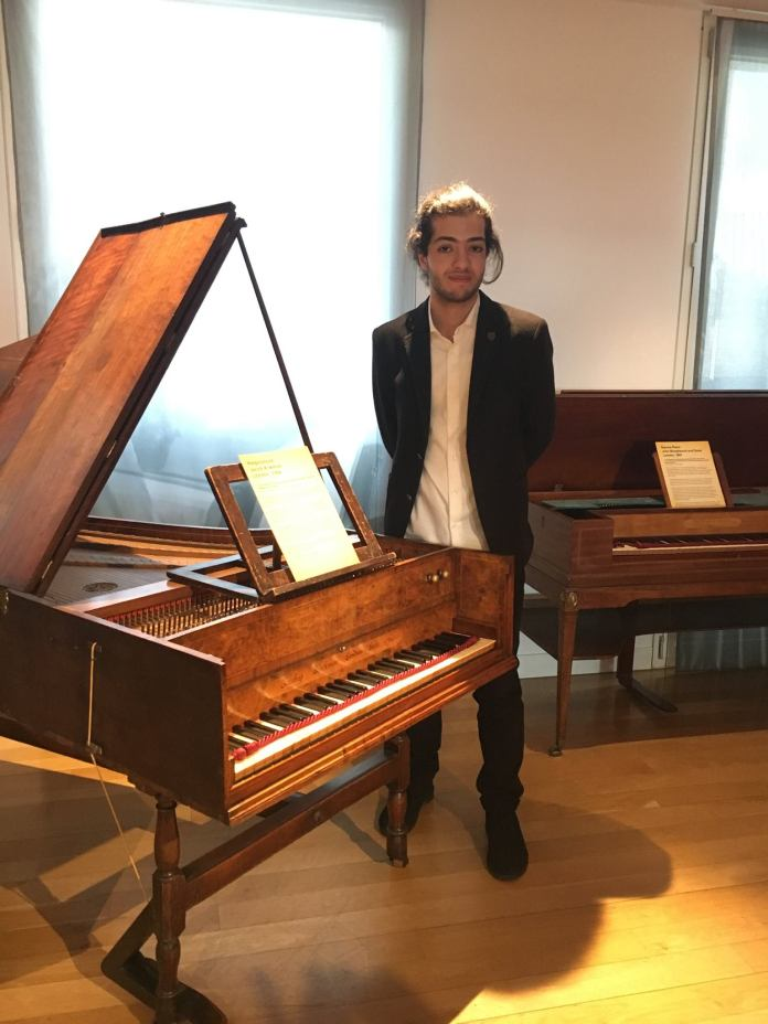Ashkan-Layegh-at-the-Instrument-Museum-Royal-Academy-of-Music