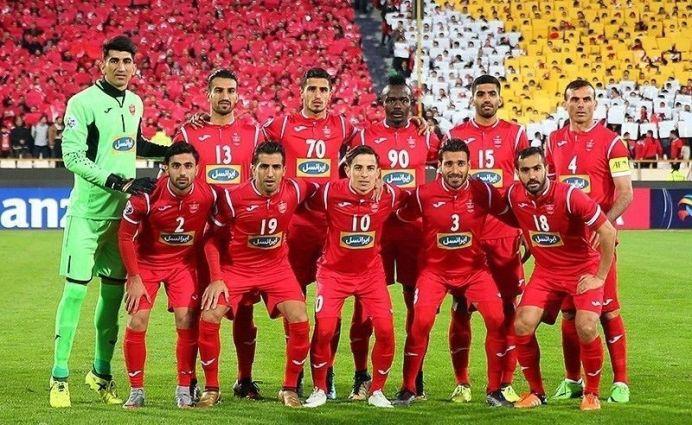 (Wikimedia Commons)FC Persepolis in ACL 2018. Azadi Stadium (Tehran)