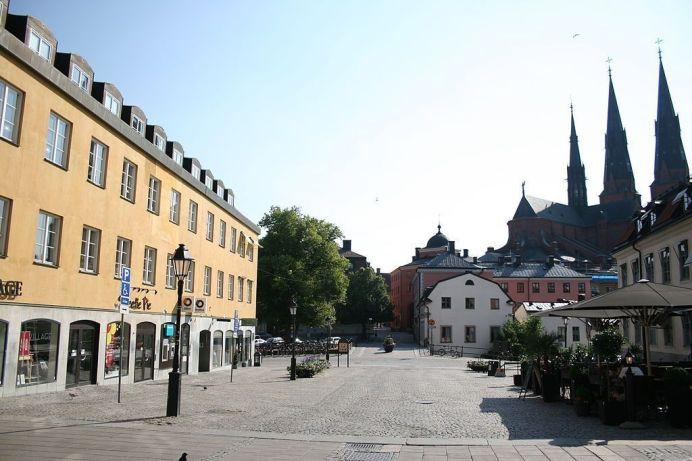Uppsala University. Wikimedia Commons