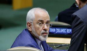 Iranian Foreign Minister Mohammad Javad Zarif REUTERS/Eduardo Munoz