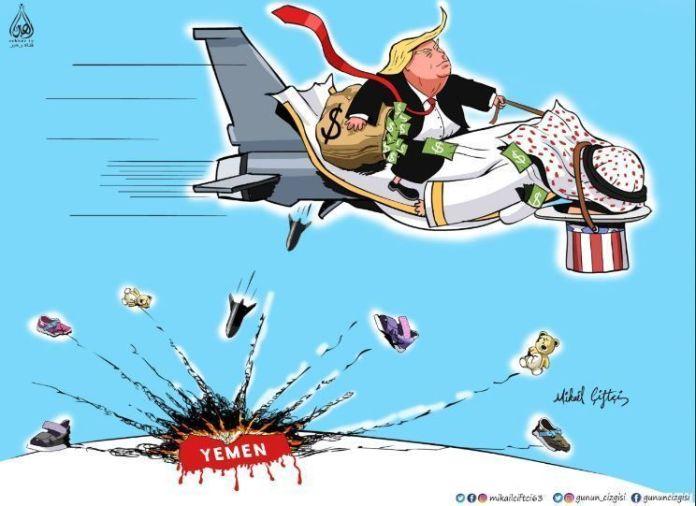 Yemen-cartoon-_-trump-_MBS-84389