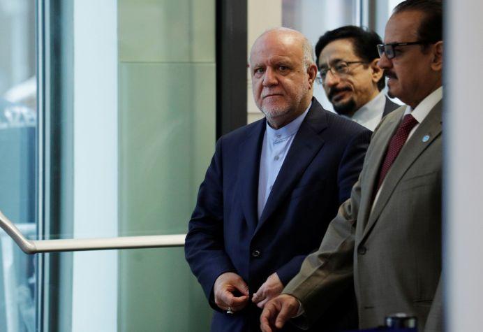 Iran's Oil Minister Bijan Zanganeh.REUTERS/Heinz-Peter Bader