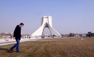 Azadi Tower (Liberty Tower) in Azadi Square in Tehran, Iran.REUTERS