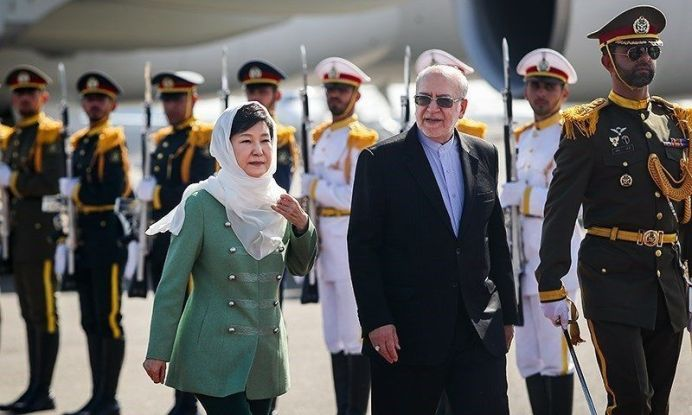 Former South Korean President Park Geun-hye in Iran. 2016. Wikimedia Commons