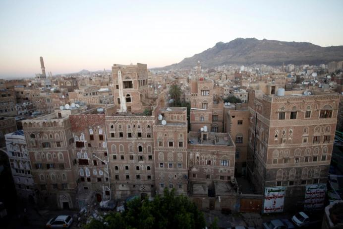 A view of the old quarter of Sanaa, Yemen November 14, 2018. REUTERS