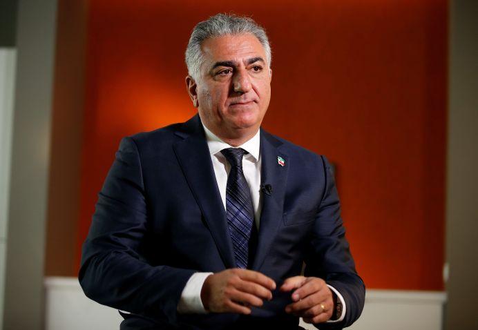 FILE PHOTO: Reza Pahlavi.REUTERS./