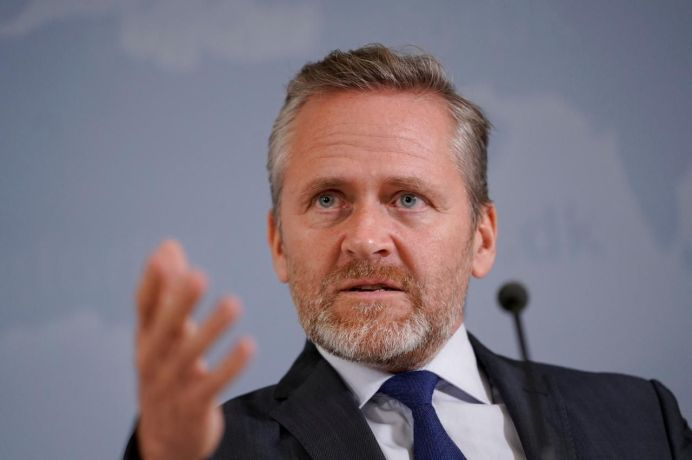 Danish Foreign Minister Anders Samuelsen. REUTERS