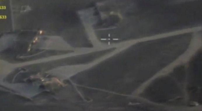 The Syrian Shayrat Air Base. REUTERS