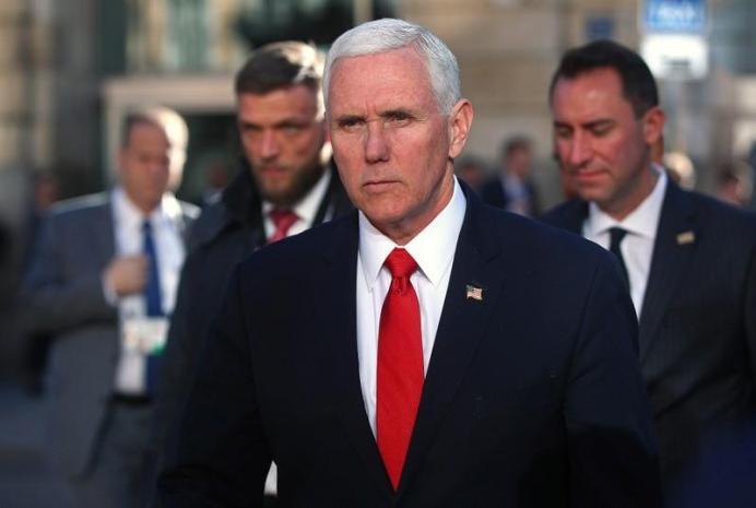 FILE PHOTO: U.S. Vice President Mike Pence. REUTERS/Michael Dalder