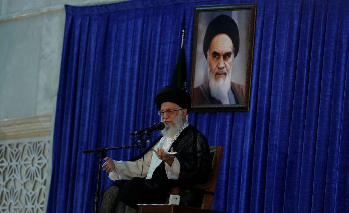Iran's Supreme Leader Ayatollah Ali Khamenei. FILE PHOTO. Reuters ./