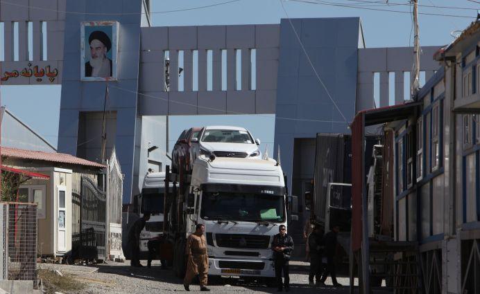 FILE PHOTO: A view of Haj Omran border between Iran and Kurdistan, Iraq. REUTERS/Azad Lashkari